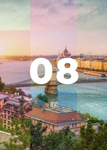 Budapest in August: Bring the Sunscreen!