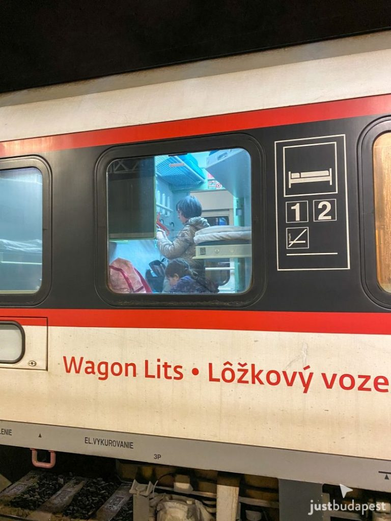 From Budapest to Prague Train
