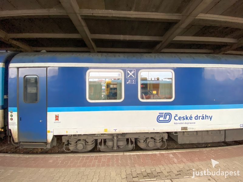 Prague to Budapest by Train