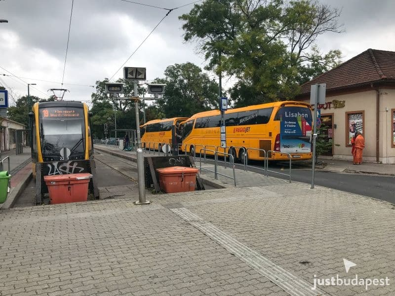 From Budapest to Vienna by Bus