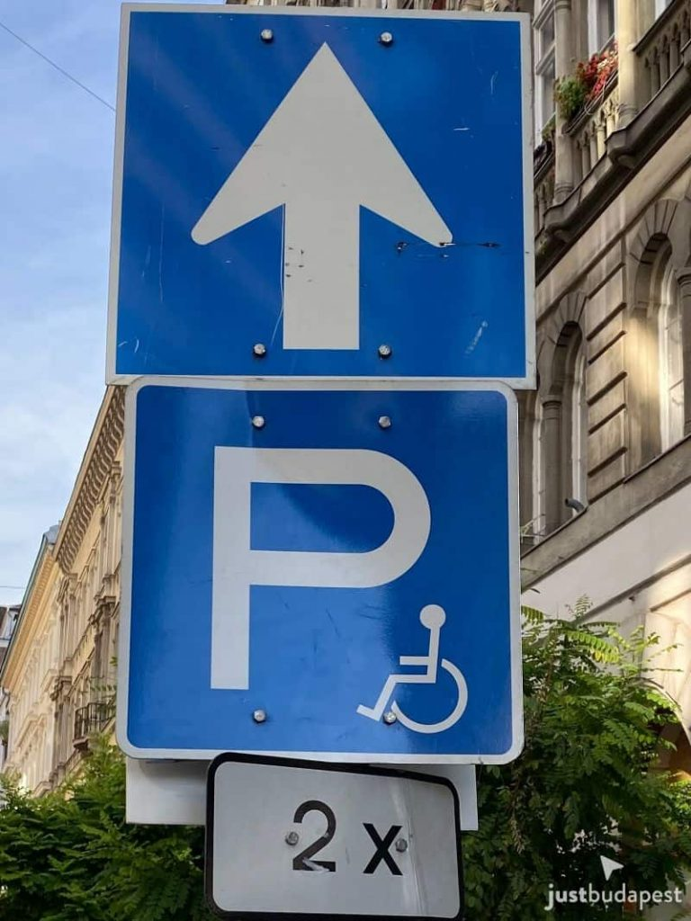 Parking in Budapest
