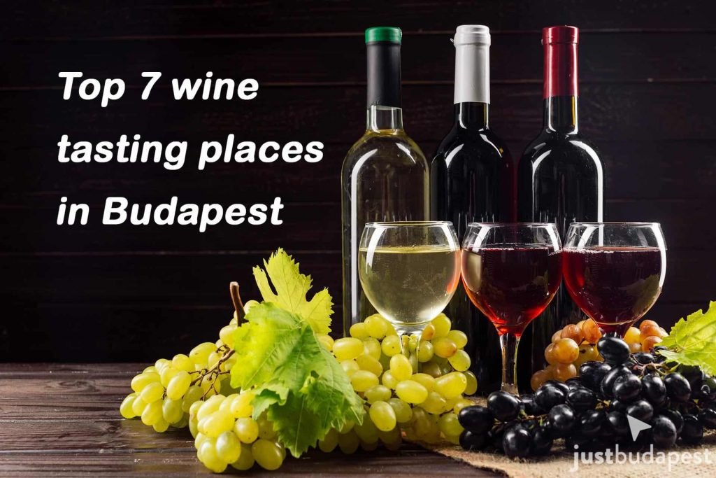 Top 7 wine tasting places in Budapest